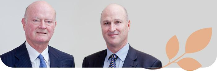 Chairperson, Andrew Guy and Managing Director, Bevan Warner