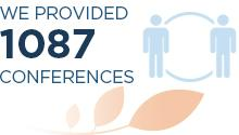 We provided 1,087 RDM conferences
